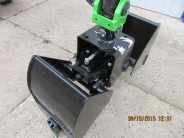 Prächtig Anbaugeraete-Shop - Zweischalengreifer für Minibagger, Greifer #QO_06