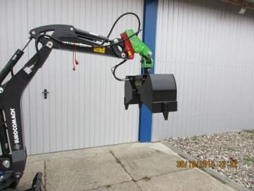 Super Anbaugeraete-Shop - Zweischalengreifer für Minibagger, Greifer #CX_88